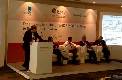 John Gibbons UKCCSC addresses Abu Dhabi Future Energy Summit.jpg