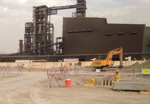 Emirates Steel Industries Project