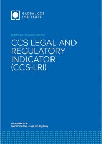 Legal & Regulatory Indicator (CCS-LRI)