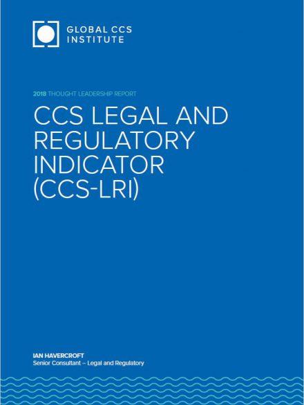 Legal & Regulatory Indicator (CCS-LRI)