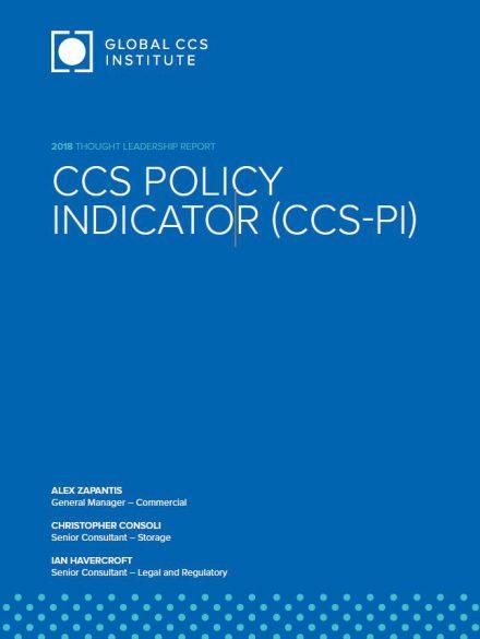 CCS Policy Indicator (CCS-PI)