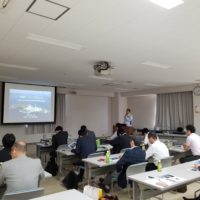 Site tour held at OSAKI CoolGen project site for Japan Members
