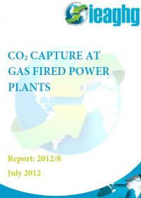 CO2 capture at gas fired power plants