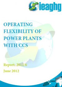 Operating flexibility of power plants with CCS