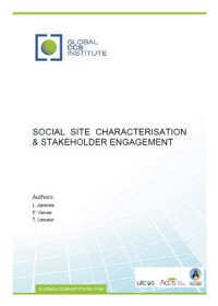 Social site characterisation & stakeholder engagement