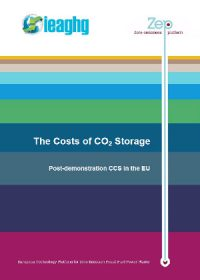 The costs of CO2 storage: post-demonstration CCS in the EU