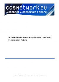 Situation report 2013/14: European large scale demonstration projects