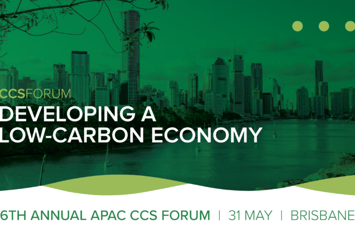 APAC CCS Forum 2019: Developing a low-carbon economy