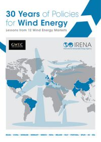 30 years of policies for wind energy: lessons from 12 wind energy markets