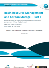 Basin resource management and carbon storage