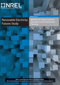 Renewable electricity futures study. Volume 4: bulk electric power systems: operations and transmission planning