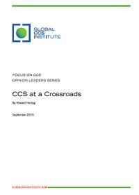 CCS at a crossroads