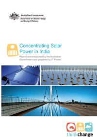 Concentrating solar power in India