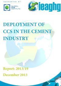 Deployment of CCS in the cement industry