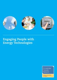 Engaging people with energy technologies