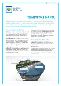 Transporting CO2