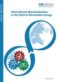 International standardisation in the field of renewable energy