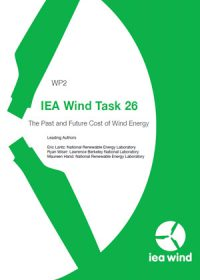 IEA wind task 26: the past and future cost of wind energy. Work package 2