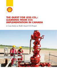 The Quest for less CO2: learning from CCS implementation in Canada. A case study on Shell's Quest CCS Project