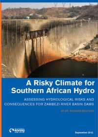 A risky climate for southern African hydro: assessing hydrological risks and consequences for Zambezi River basin dams