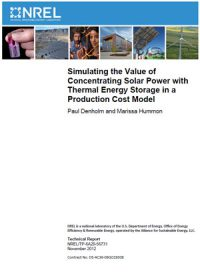 Simulating the value of concentrating solar power with thermal energy storage in a production cost model