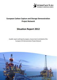 Situation report 2012: a public report outlining the progress, lessons learnt and details of the European CCS Demonstration Project Network