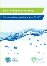 Small hydropower roadmap: condensed research data for EU-27