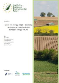 Space for energy crops – assessing the potential contribution to Europe's energy future