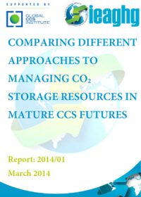Comparing different approaches to managing CO2 storage resources in mature CCS futures
