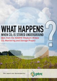 What happens when CO2 is stored underground? Q&A from the IEAGHG Weyburn-Midale CO2 Monitoring and Storage Project