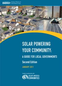 Solar powering your community: a guide for local governments