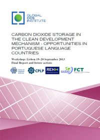 Carbon dioxide storage in the Clean Development Mechanism: opportunities in Portuguese language countries. Workshop: Lisbon 19-20 September 2013. Final report and future actions