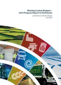 Meeting carbon budgets: 2013 progress report to Parliament