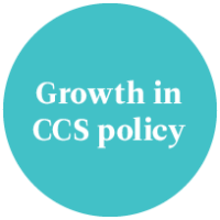 A growth in CCS policy confidence across multiple country jurisdictions.