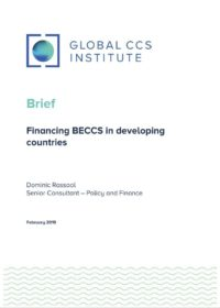 Financing BECCS in developing countries