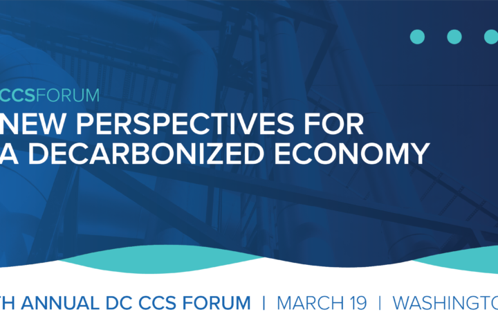 8th Annual DC Forum on CCS: New Perspectives for a Decarbonized Economy