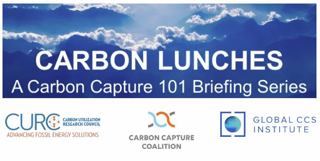 Carbon Lunches: A Carbon Capture Briefing Series