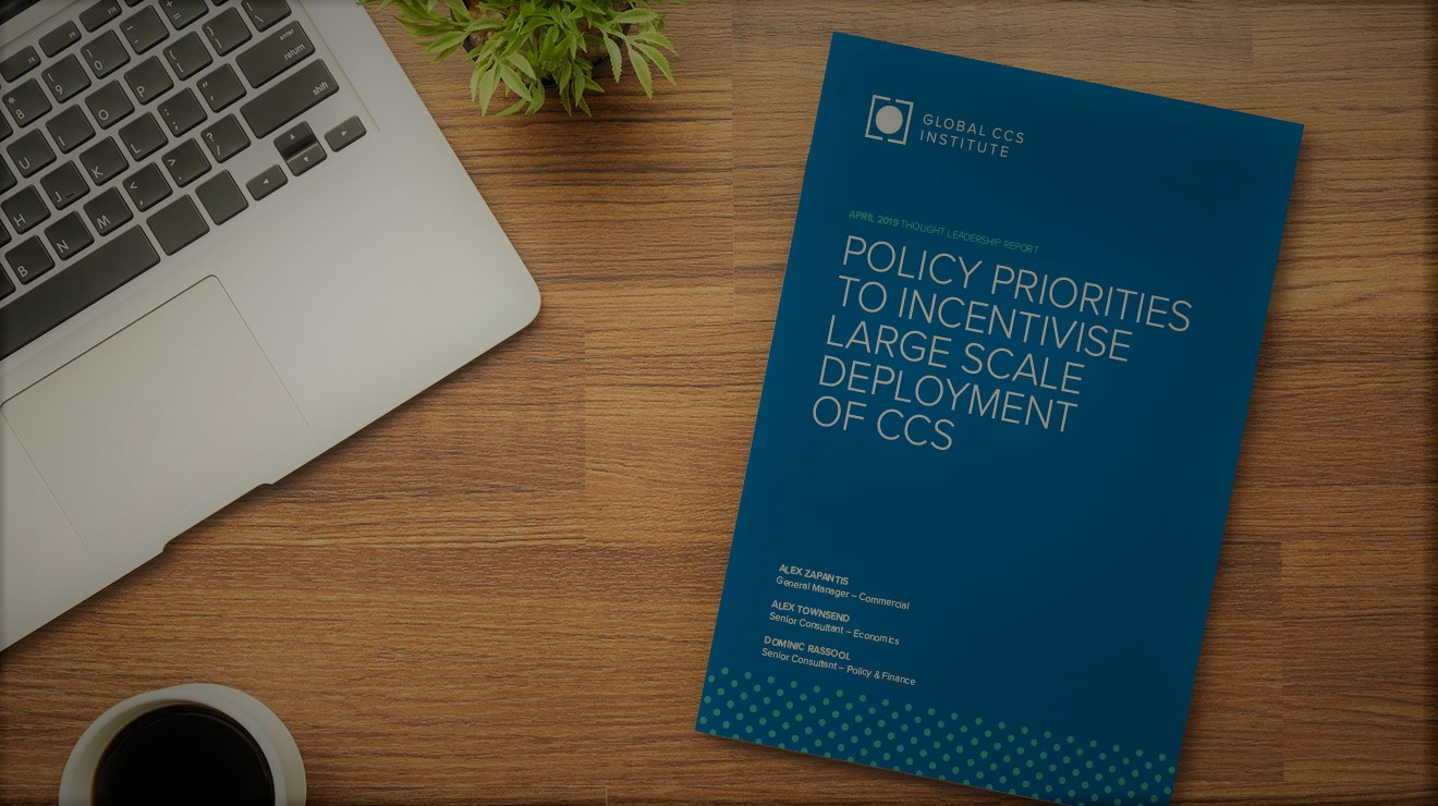 Policy priorities to incentivise CCS deployment