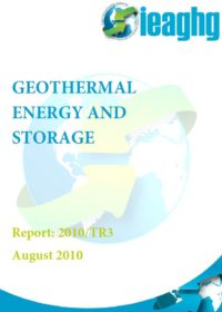 Geothermal energy and storage