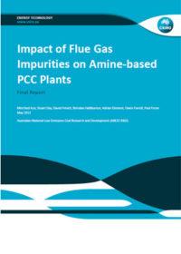 Impact of flue gas impurities on amine-based PCC plants