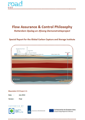 Flow assurance & control philosophy:  Rotterdam Opslag en Afvang Demonstratieproject. Special report for the Global Carbon Capture and Storage Institute
