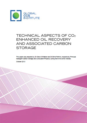 Technical aspects of CO2 enhanced oil recovery and associated carbon storage