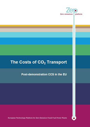 The costs of CO2 transport: post-demonstration CCS in the EU