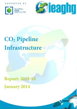 CO2 pipeline infrastructure