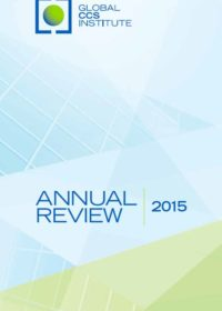 Global CCS Institute annual review 2015