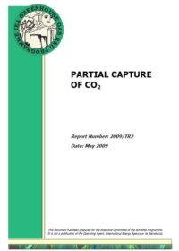 Partial capture of CO2