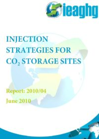 Injection strategies for CO2 storage sites