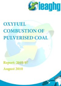 Oxyfuel combustion of pulverised coal
