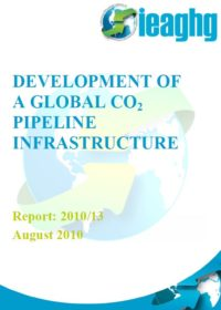 Development of a global CO2 pipeline infrastructure