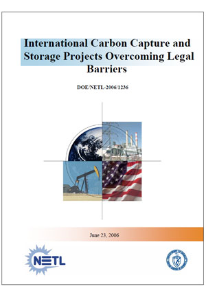 International carbon capture and storage projects: overcoming legal barriers